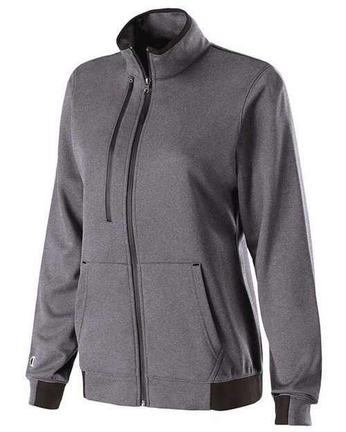 Holloway 229366 Ladies Polyester Fleece Full Zip Artillery Jacket