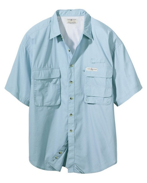 Hook & Tackle 1013S Men's Gulf Stream Short-Sleeve Fishing Shirt