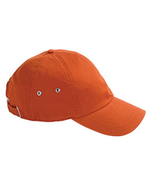 Hyp A4006 6-Panel Twill Cap with Metal Eyelets
