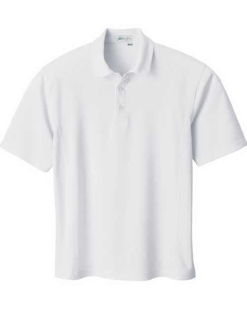 Il Migliore 85090 Mens Recycled Polyester Performance Birdseye Polo