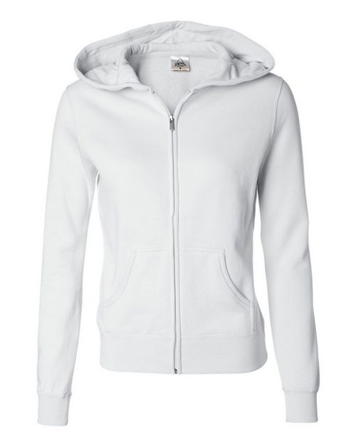 Independent Trading Co. AFX25FZ Juniors Full-Zip Hooded Sweatshirt