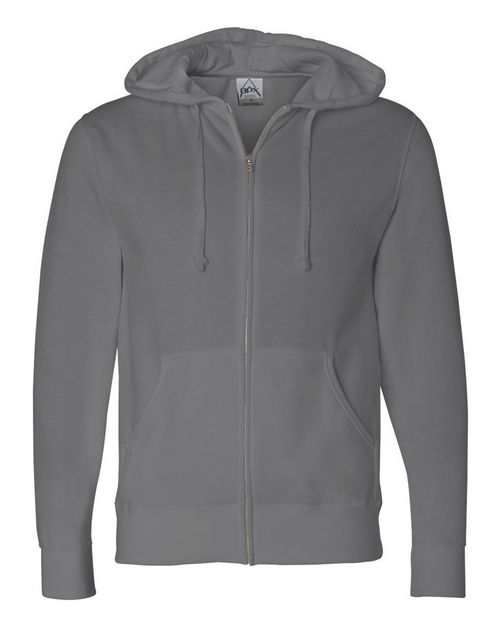 Independent Trading Co. AFX4000Z Mens Full-Zip Hooded Sweatshirt