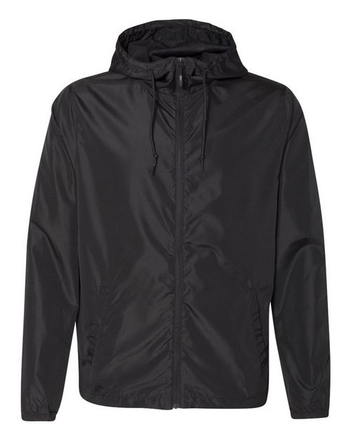 Independent Trading Co. EXP54LWZ Light Weight Windbreaker Zip Jacket
