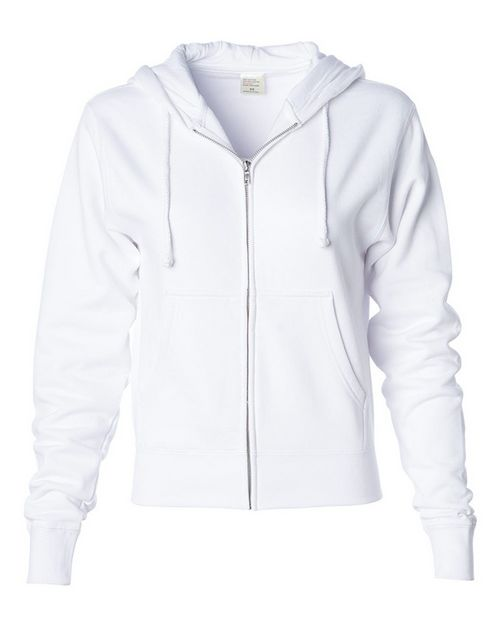 Independent Trading Co. IND008Z Womens Zip Hooded Sweatshirt