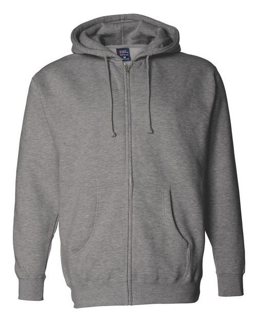 Independent Trading Co. IND4000Z Mens Hooded Full-Zip Sweatshirt