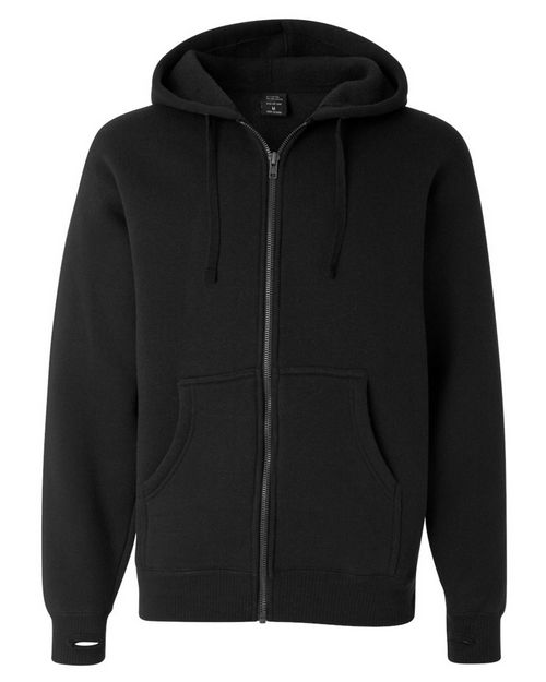Independent Trading Co. IND6000Z Mens Super Heavyweight Zip Hooded Sweatshirt
