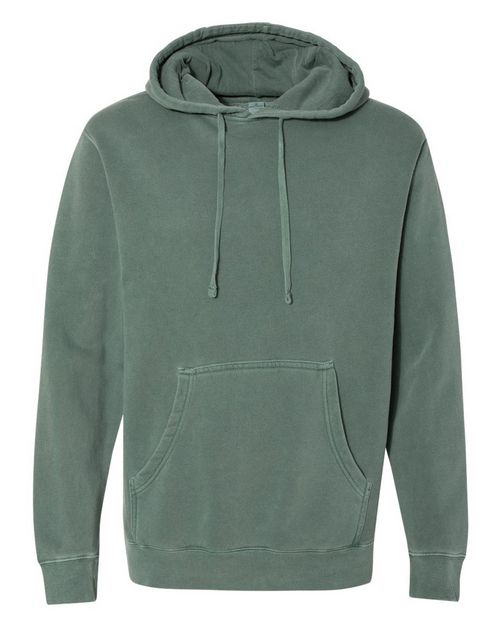 Independent Trading Co. PRM4500 Mens Heavyweight Pigment Dyed Hooded Sweatshirt
