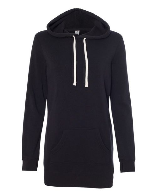 Independent Trading Co. PRM65DRS Womens Special Blend Hooded Pullover Dress