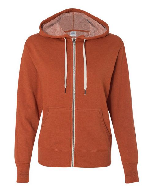 Independent Trading Co. PRM90HTZ Unisex Hooded Full-Zip Sweatshirt