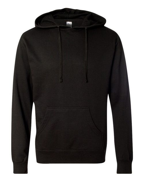 Independent Trading Co. SS2200 Mens Lightweight Hooded Pullover Sweatshirt