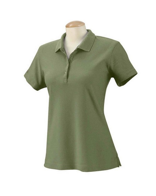 Izod 13Z0081 Womens Performance Golf Pique Polo