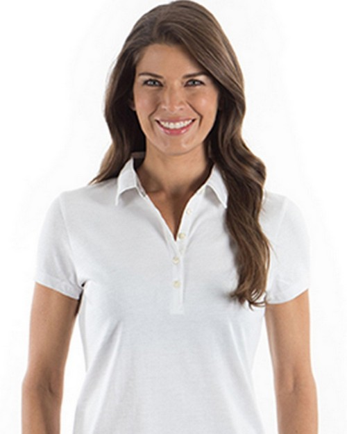 Izod 13Z0136 Ladies Heathered Jersey Polo