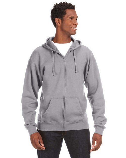 J America JA8821 Premium Full Zip Fleece Hood