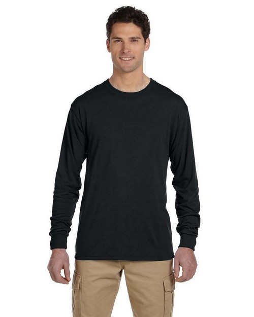 Jerzees 21ML 5.3 oz.; 100% Polyester Long Sleeve T-Shirt