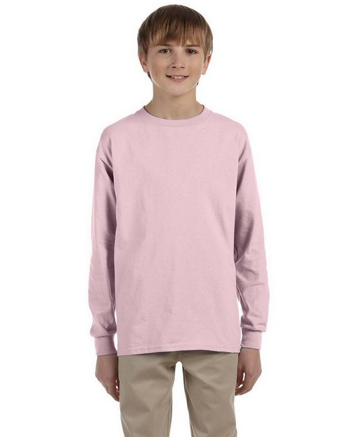 Jerzees 29BL Youth 5.6 oz 50/50 Long-Sleeve T-Shirt