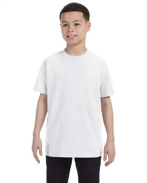 Jerzees 29B Youth 5.6 oz 50/50 Heavyweight Blend T-Shirt