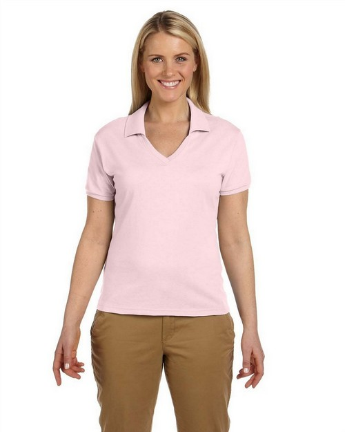 Jerzees 337W Ladies 5.6 oz 50/50 Jersey Knit Polo with SpotShield Stain Resistance