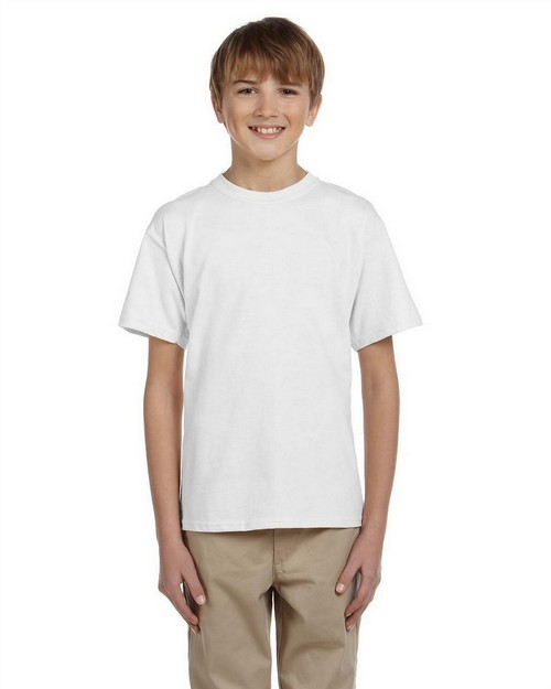 Jerzees 363B Youth 5.6 oz HiDENSI-T Cotton T-Shirt