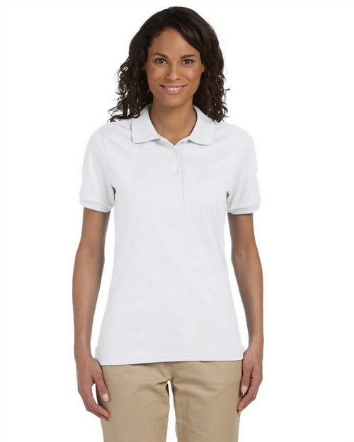 Jerzees 437W Ladies 5.6 oz.; 50/50 Jersey Polo with SpotShield