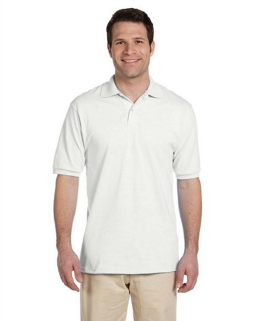 Jerzees 437 5.6 oz. 50/50 Jersey Polo with SpotShield