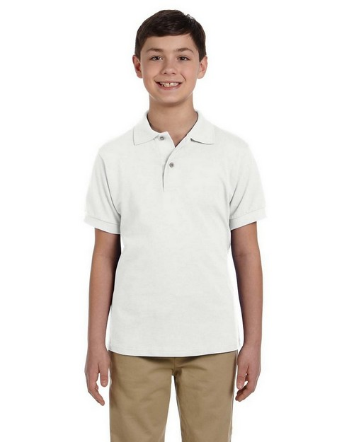 Jerzees 440Y Youth 6.5 oz. Cotton Pique Polo