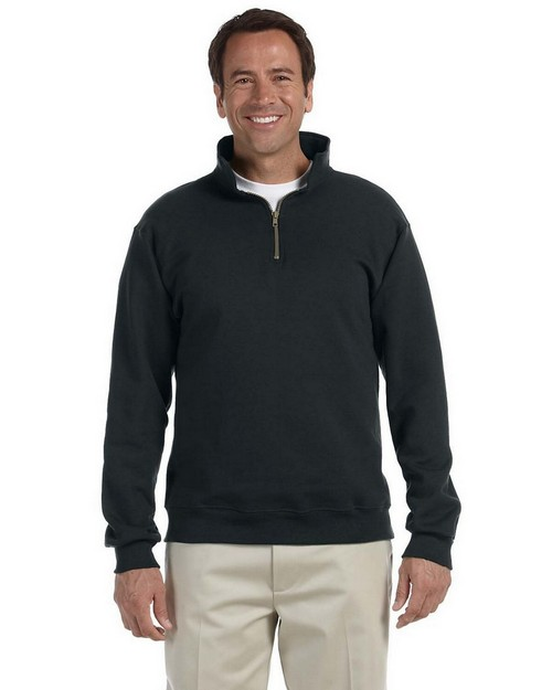 Jerzees 4528 9.5 oz. Super Sweats 50/50 Quarter-Zip Pullover