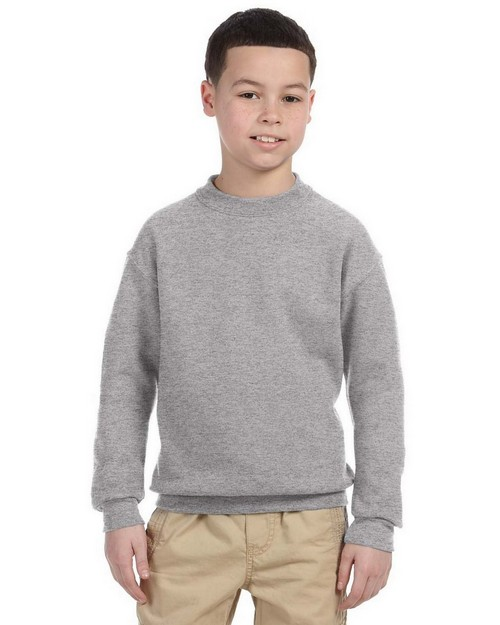 Jerzees 4662B Youth 9.5 oz. Super Sweats 50/50 Crew