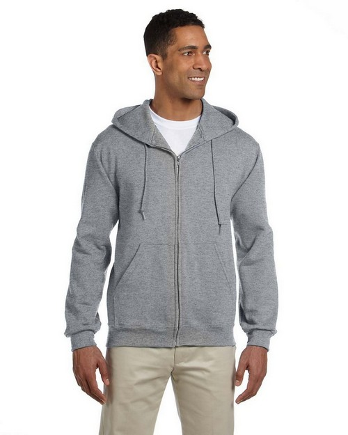 Jerzees 4999 9.5 oz. Super Sweats 50/50 Full-Zip Hood