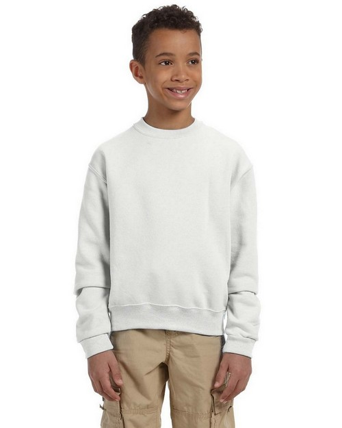 Jerzees 562B Youth 8 oz.; 50/50 Crew Neck