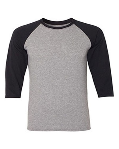 Jerzees 601R Dri-Power Active Adult Triblend Baseball Raglan