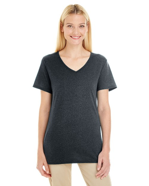Jerzees 601WVR Ladies 4.5 oz. TRI-BLEND V-Neck T-Shirt
