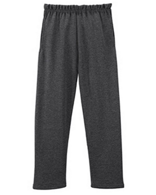 Jerzees 974YP Nublend Youth Pocketed Open Bottom Sweatpant