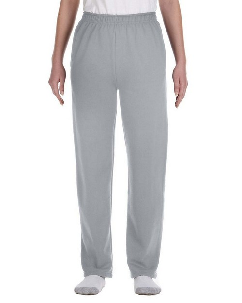 Jerzees 974Y Youth 8 oz. 50/50 NuBlend Open-Bottom Sweatpants