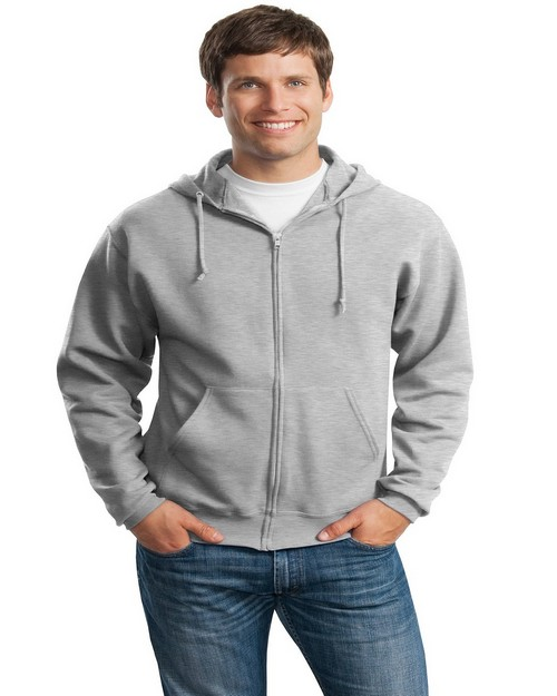 Jerzees 993M NuBlend Full-Zip Hooded Sweatshirt