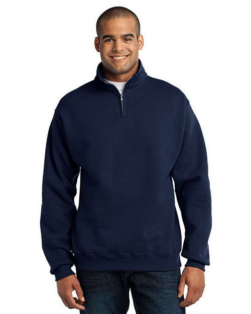 Jerzees 995M 1/4-Zip Cadet Collar Sweatshirt