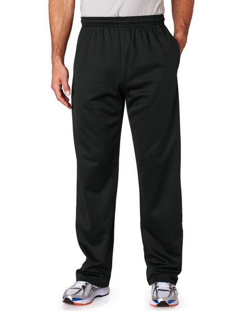 Jerzees PF974 Adult Sport Tech Open-Bottom Sweatpants with Pockets
