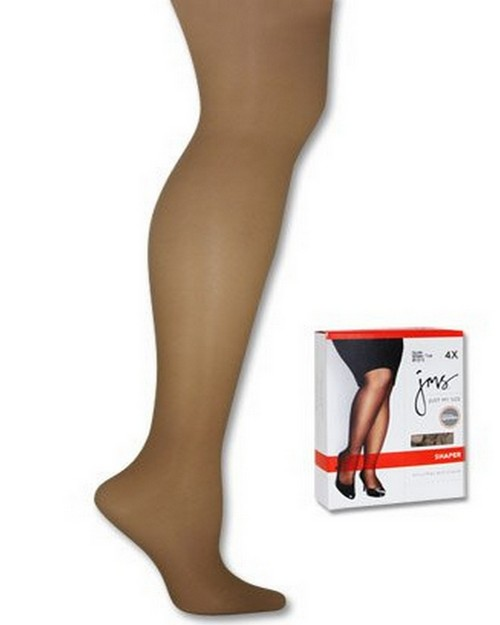 Just My Size 82122 Shaper with Silky Leg