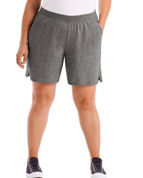 Just My Size OJ206 Cotton Jersey Pull-On Womens Shorts