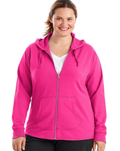 Just My Size OJ243 French Terry Full-Zip Womens Hoodie