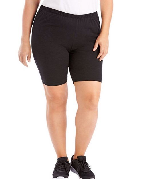 Just My Size OJ251 Stretch Cotton Jersey Womens Bike Shorts