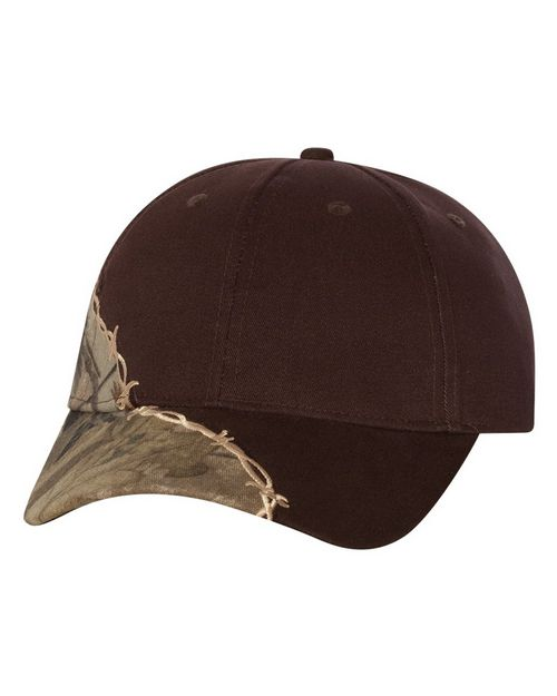 Kati LC4BW Licensed Camo Cap with Barbed Wire Embroidery