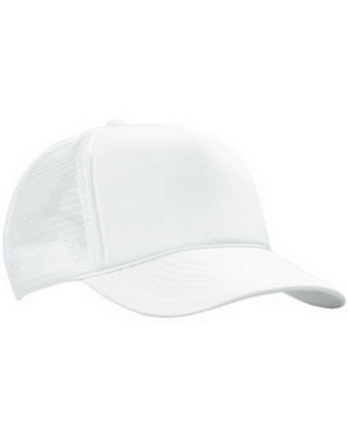 Kc Caps KC5400 5 Panel Poly Foam Mesh Trucker Cap