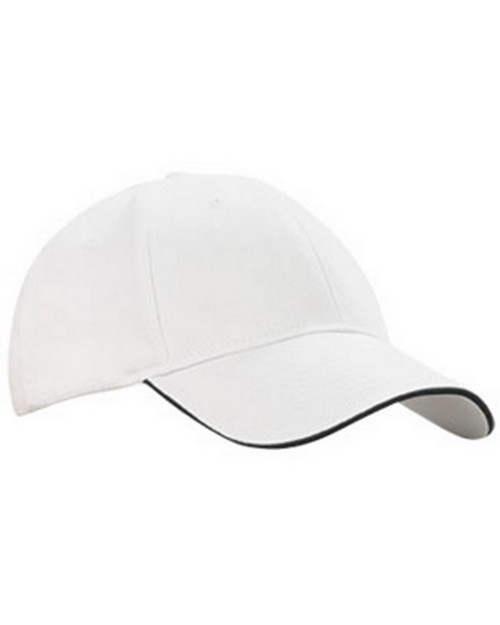Kc Caps KC6213 Lightweight Brushed Cotton Sandwich Bill Cap