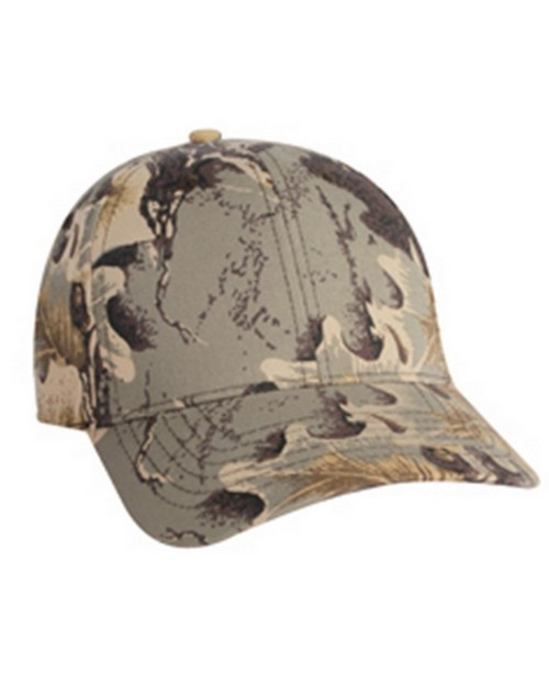 Kc Caps KC7160 Camo Cotton Twill Cap