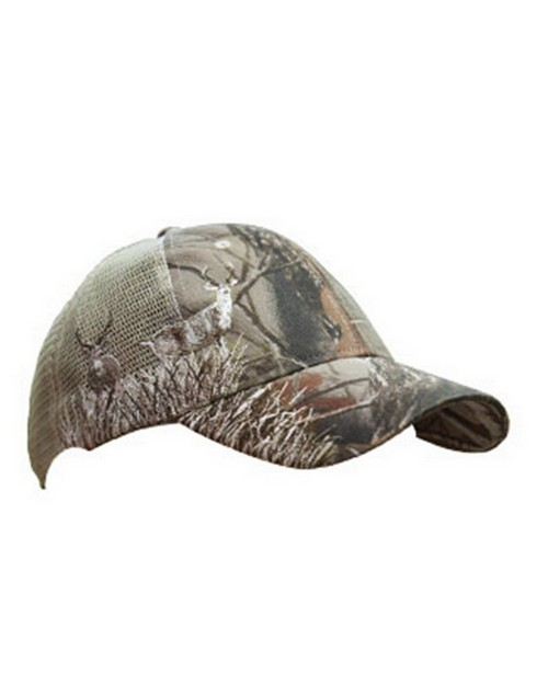 Kc Caps KCHT01 Realtree Hardwoods Buck Mesh Back Cap
