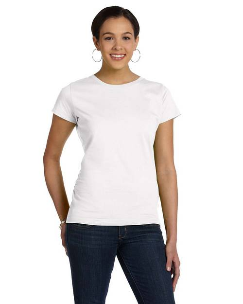 LAT 3516 Ladies Fine Jersey Longer Length T-Shirt