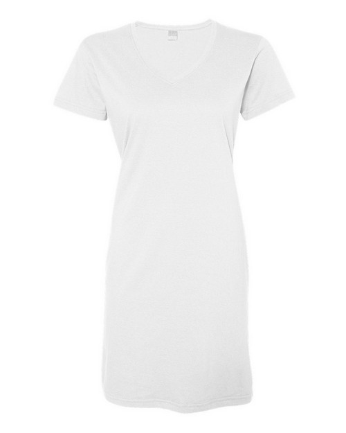 LAT 3522 Ladies Fine Jersey Crossover V-Neck Coverup