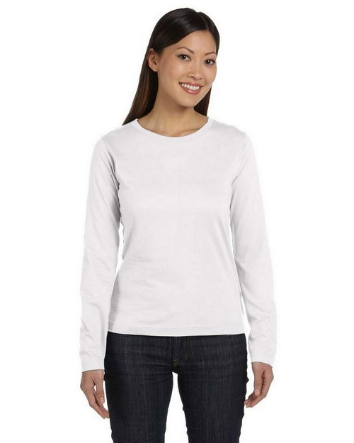 LAT 3588 Womens Ringspun Long-Sleeve T-Shirt