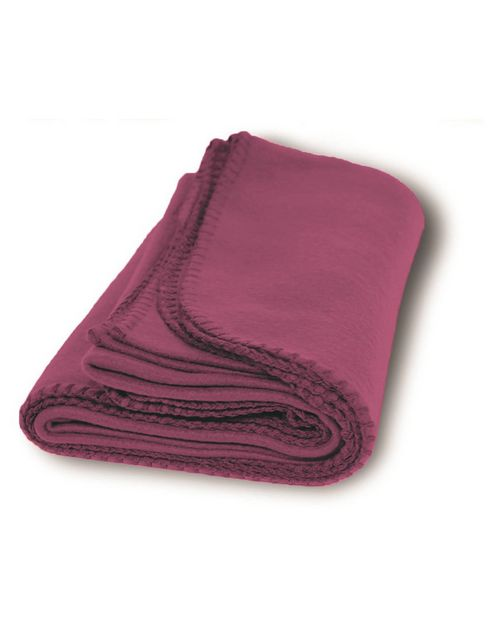 Liberty Bags 8711 Alpine Fleece Value Fleece Throw Blanket