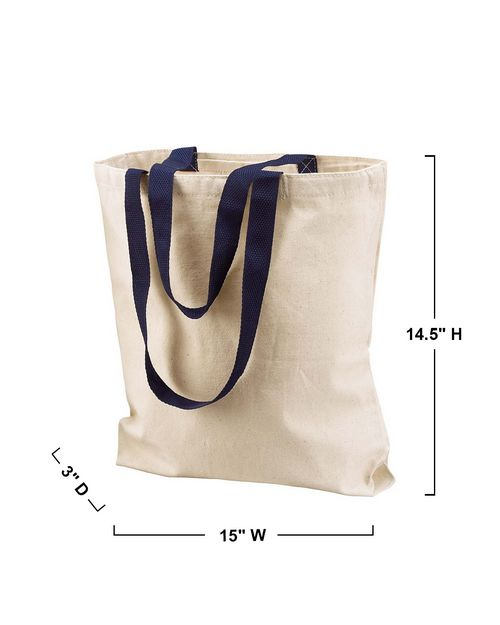 Liberty Bags 8868 Canvas Tote